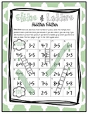 Slides and Ladders - Addition Game (CCSS 2.OA.2)