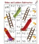 Slides and Ladders Addition and Subtraction Math Center Bundle