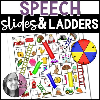 Slides and Ladders BUNDLE:  24 Articulation Practice Games