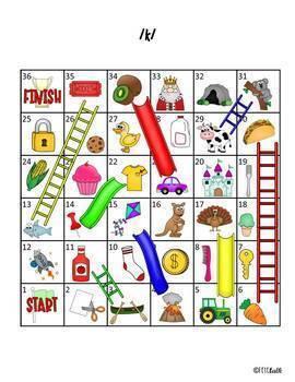 Slides and Ladders BUNDLE:  24 Articulation Practice Games