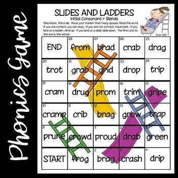 Slides and Ladders--Blends and Digraphs Games