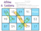 Slides and Ladders Common Core Math Folder Game Place Value Tens and Ones