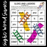 Slides and Ladders--Fry Words 1-100 Games   Distance Learning Access