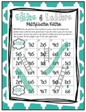 Slides and Ladders - Multiplication Game (CCSS 2.OA.4)