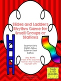 Slides and Ladders: Rhythm Reading and Performance Game Quarter/Eighth Edition