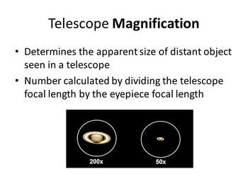 "Slides for ""Astronomy: A Self-Teaching Guide"" (Moche): Ch. 02, Light-Telescopes"