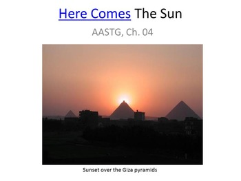 "Slides for ""Astronomy: A Self-Teaching Guide"" (Moche): Ch. 04, The Sun"