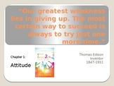 Slides to Introduce Chapters of the book What I Need 2 Succeed, from A to Z