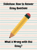 Slideshow: How to Answer Essay Questions