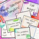 Back to School Slideshow Template Google Slideshow Powerpo
