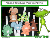"""""""Leaping"""" Animal Slider crafts:  Numbers, Letters + 2D Shapes Fun For Leap Year"""