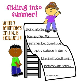 Sliding Into Summer [Writing Template]