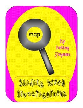 Sliding Word Investigations