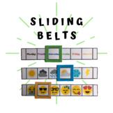 Sliding belts