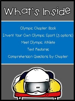 Sliding into the Winter Games 2018 (11+ Day Olympic Printable Book & Activities)