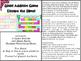Addition Game Bundle - Slime Theme