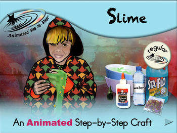 Slime - Animated Step-by-Step Craft - Regular