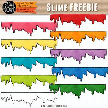 Slime Clip Art {FREEBIE}