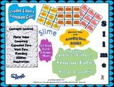 Slime Place Value , True or False Task Cards, Grades 4-5