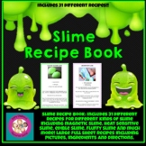 Science Slime Recipe Book:  Large Version