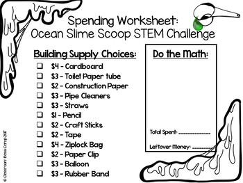Slime STEM