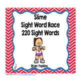 Slime Time Sight Word Race
