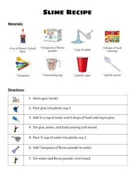 Slime Visual Recipe