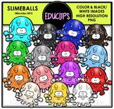 Slimeballs Clip Art Bundle {Educlips Clipart}