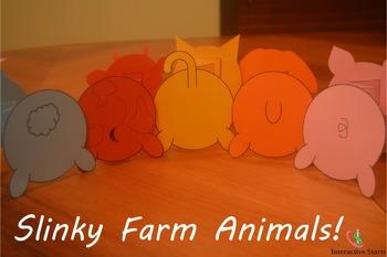 Slinky Farm Animals!