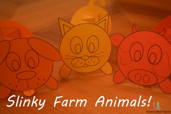 Slinky Farm Animals!