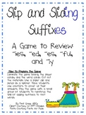 Slip and Sliding Suffixes Game