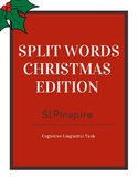 Slip words- Christmas Edition