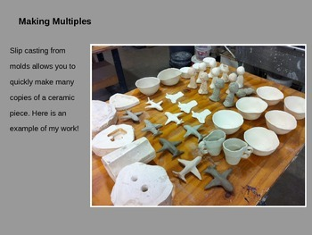 Slipcastng and Moldmaking Project (Advanced Ceramics)