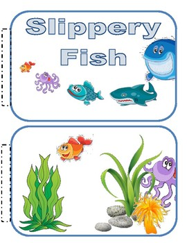 Slippery Fish Books And Props To Go With Charlotte Diamond