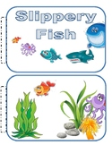 Slippery Fish Books and Props to go with Charlotte Diamond's Song