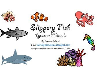 Slippery Fish Interactive Book