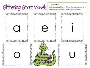 Slithering Short Vowels Game