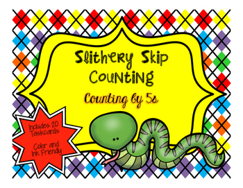 Slithery Skip Counting by 5s