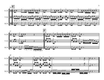 Slobbernoggin--Drumline Cadence