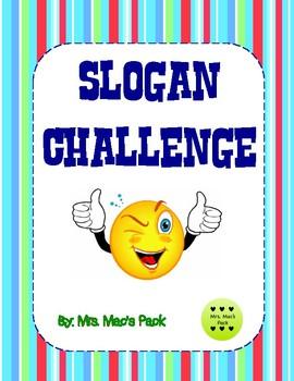 Slogan/Jingle Challenge