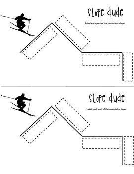 Slop Dude Interactive Notebook Page