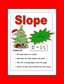 Slope Activity (Christmas Edition)