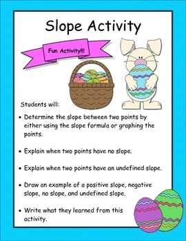 Slope Activity (Easter Edition)