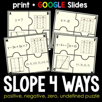 Slope 4 Ways Puzzle