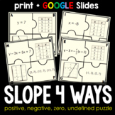 Slope 4 Ways Puzzle - print and digital