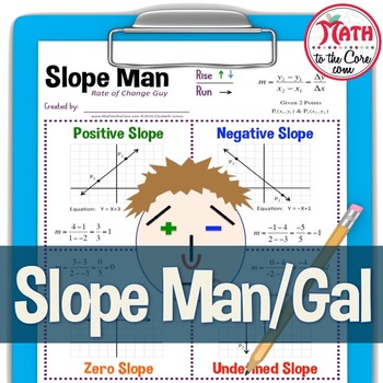 Slope Man and Gal  Creative Slope Activity