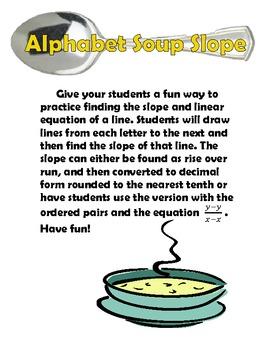 Slope Alphabet Soup