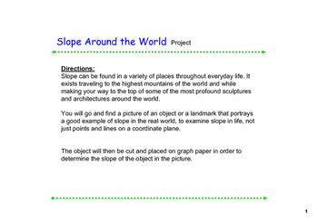 Slope Around the World