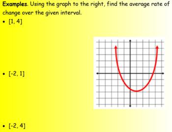 Slope/Average Rate of Change (Math 1)