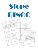 Slope BINGO with Student Worksheet